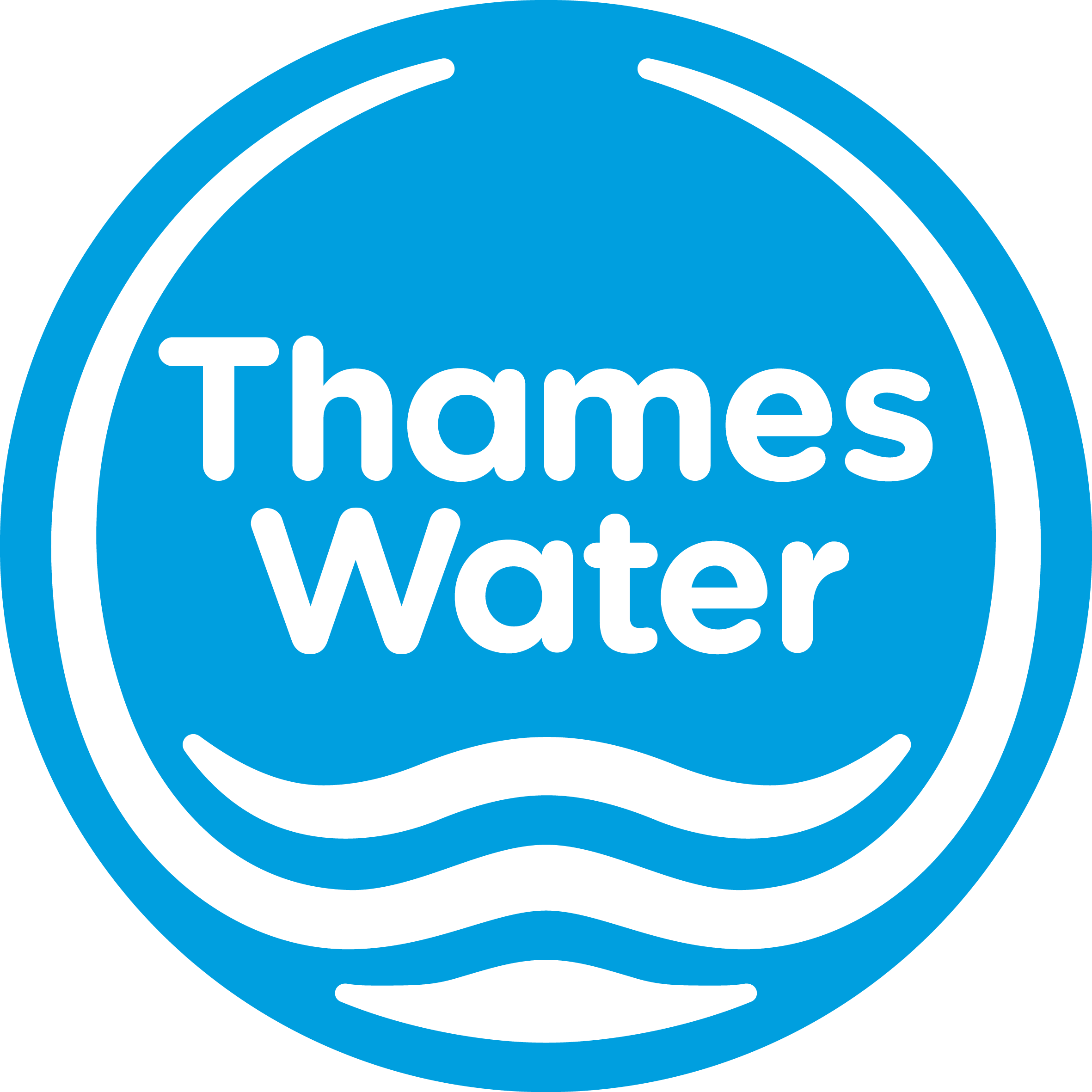 Thames Water logo blue low